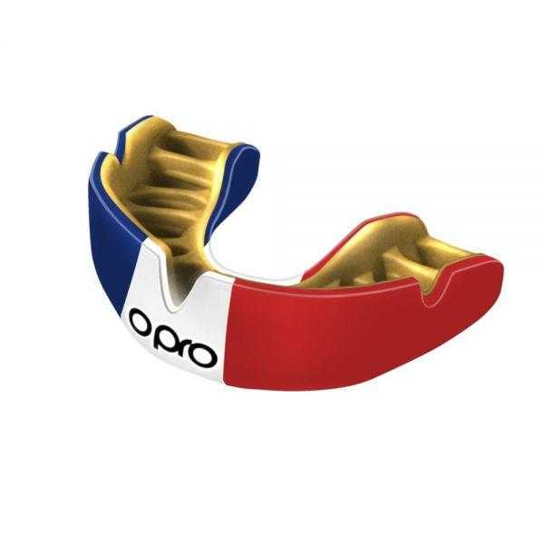 Opro Power-Fit Countries Mouthguards Opro France Junior