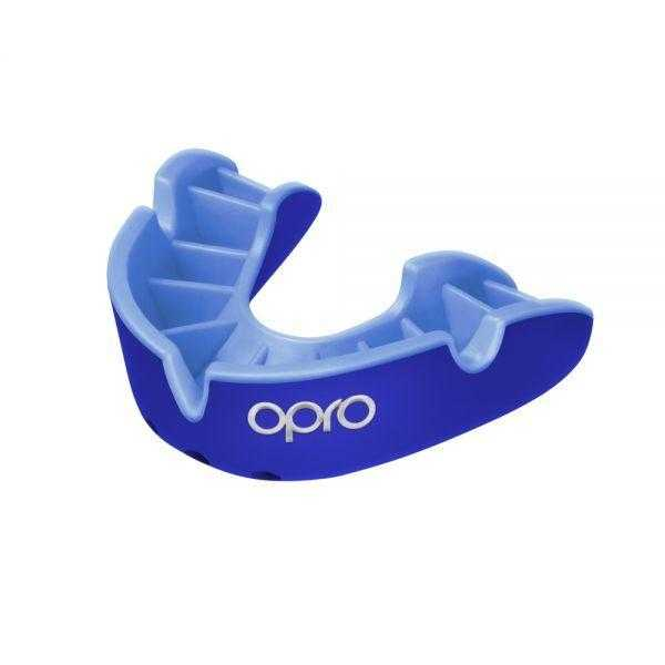 Opro Silver Mouthguards Opro Blue Junior