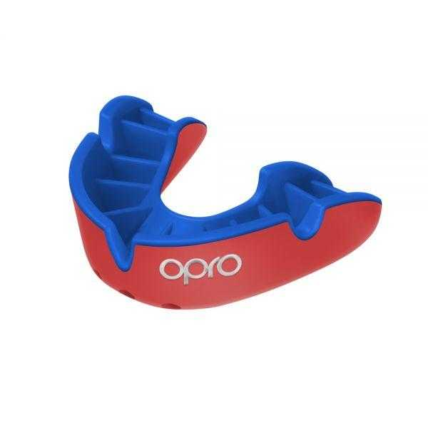 Opro Silver Mouthguards Opro Red Junior
