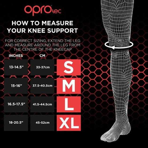 Oprotec Knee Support With Stabilisers Oprotec