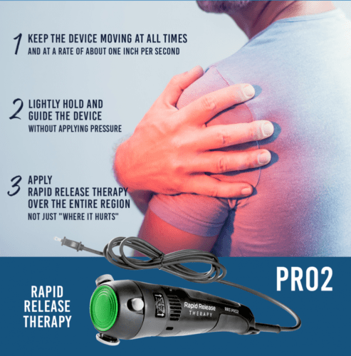 Rapid Release RRT-PRO2 Targeted High Speed Vibration Massager