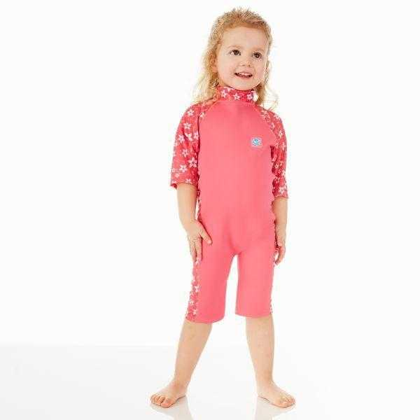 Splash About UV Sun & Sea Suit Under the Sea Splash About Pink Blossom 1-2 Years