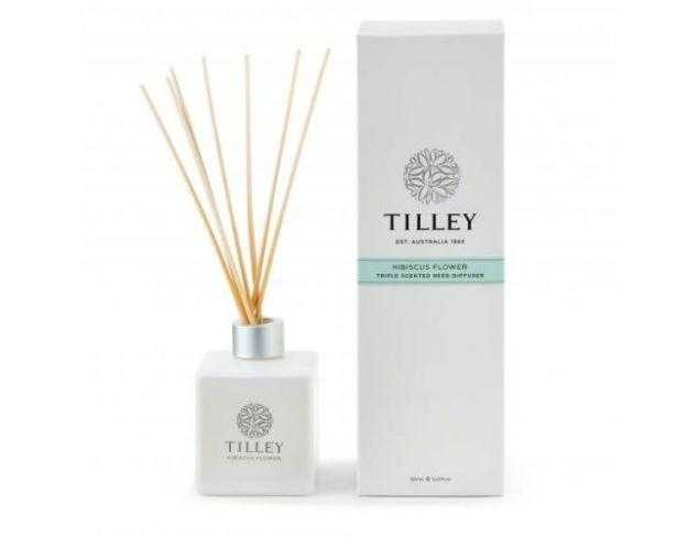 Tilley Aromatic Reed Diffuser 150mL Tilley Hibiscus Flower