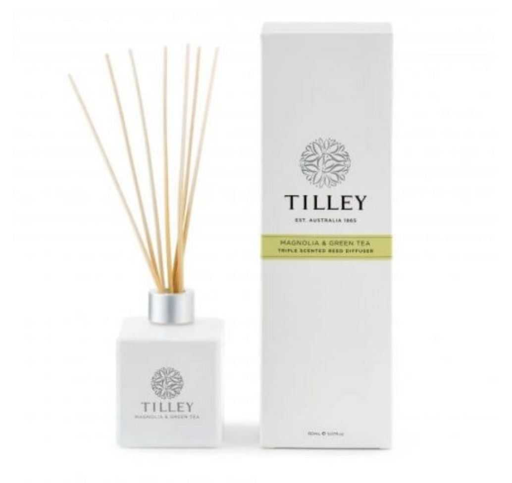 Tilley Aromatic Reed Diffuser 150mL Tilley Magnolia & Green Tea