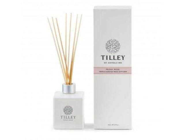Tilley Aromatic Reed Diffuser 150mL Tilley Peony Rose