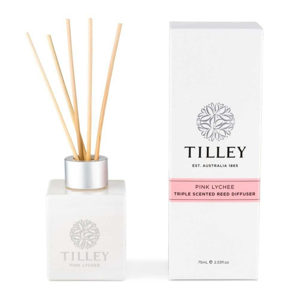 Tilley Aromatic Reed Diffuser 150mL Tilley Pink Lychee