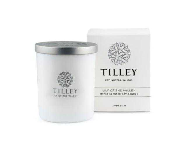 Tilley Candles 240g / 45 Hour Tilley Lily Of The Valley