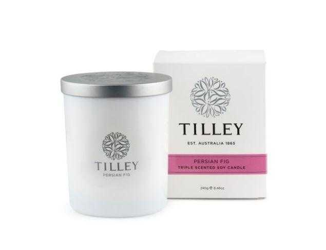 Tilley Candles 240g / 45 Hour Tilley Persian Fig