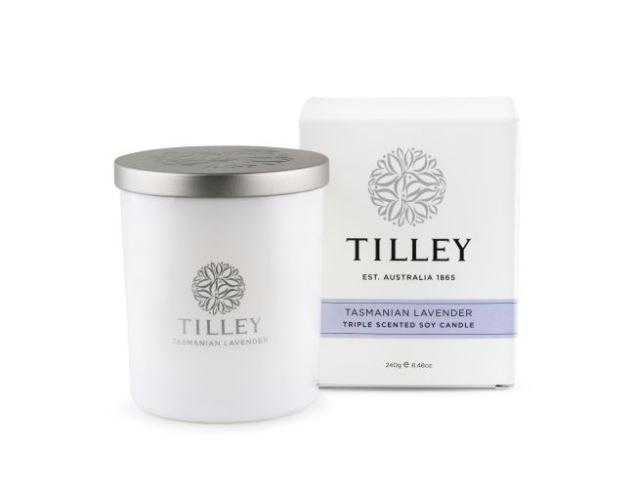 Tilley Candles 240g / 45 Hour Tilley Tasmanian Lavender