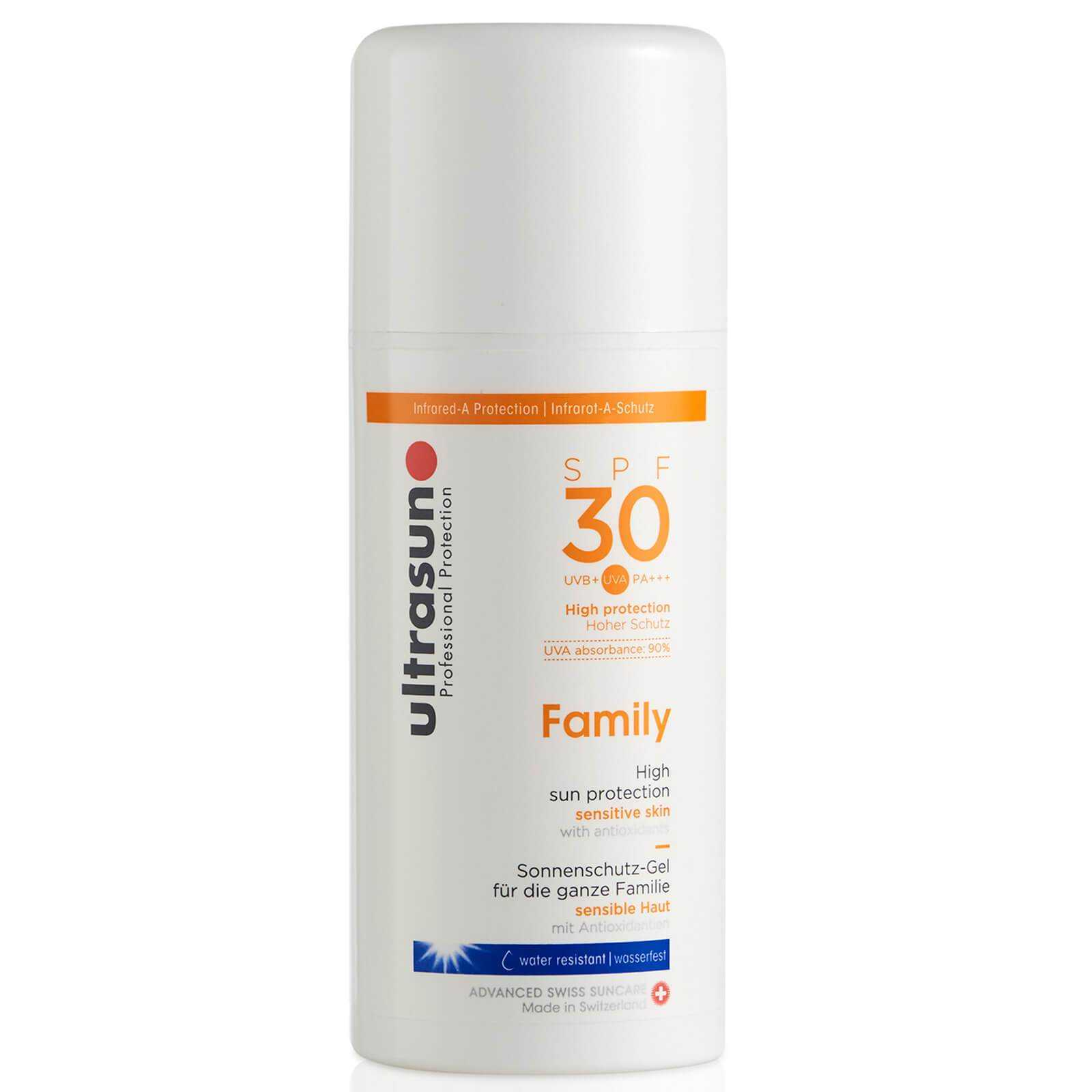 Ultrasun SPF 30 Family Sun Lotion (100ml) Ultrasun