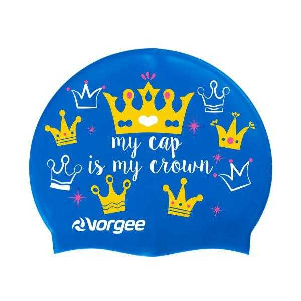 Vorgee Miss Glamour Swim Cap Vorgee Crown
