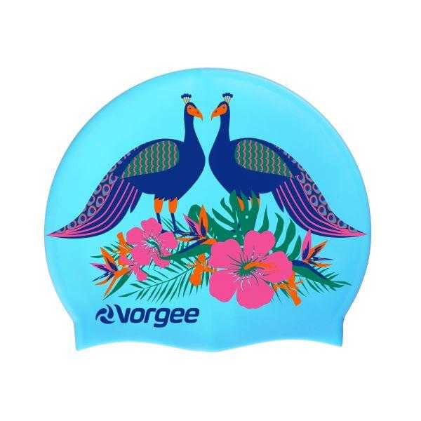 Vorgee Miss Glamour Swim Cap Vorgee Peacocks