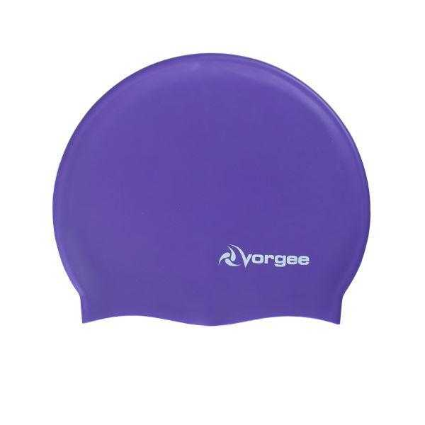 Vorgee Super Flex Swim Cap Vorgee Purple