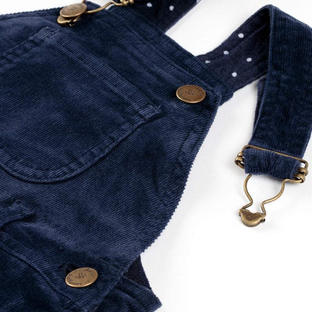 Navy Cord Dungarees
