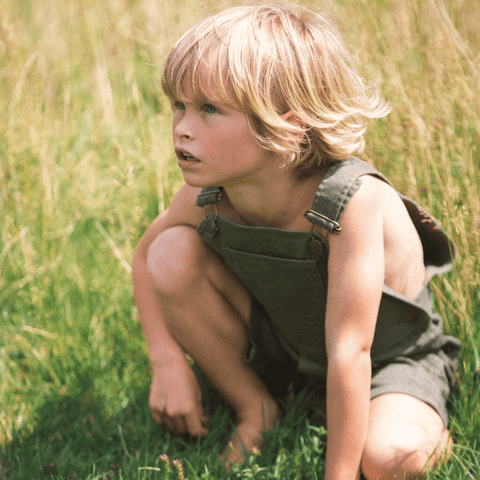 dotty-dungarees-ltd, Olive Green Shorts