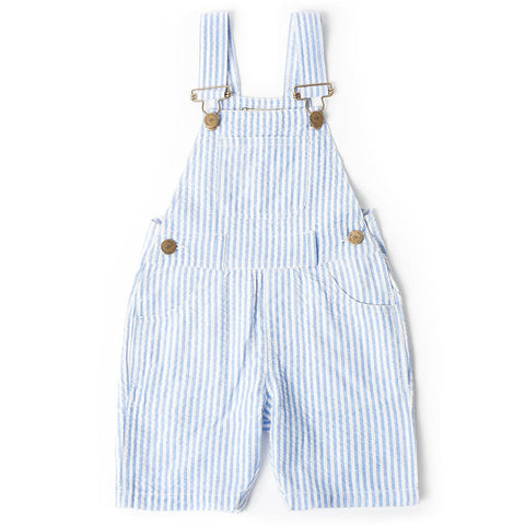 dotty-dungarees-ltd, Blue Seersucker Shorts