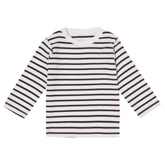 Purple Breton Stripe Top