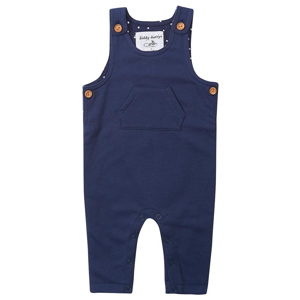 Navy Diddy Dungarees