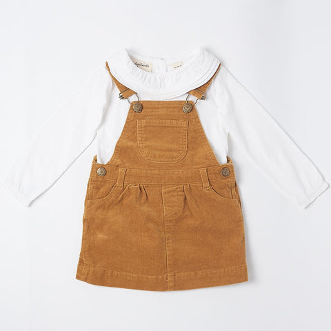 Caramel Corduroy Dress