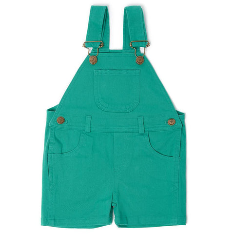 Emerald Green Denim Shorts