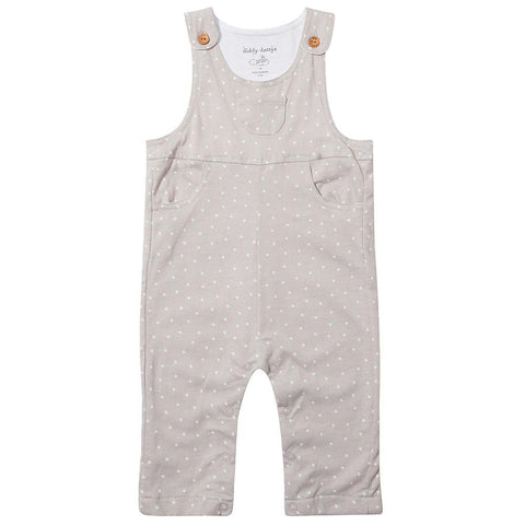Grey Diddy Dotty Dungarees