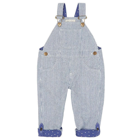 dotty-dungarees-ltd, Otto Stripe Dungarees