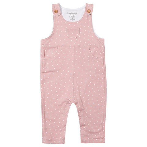 Pink Diddy Dotty Dungarees