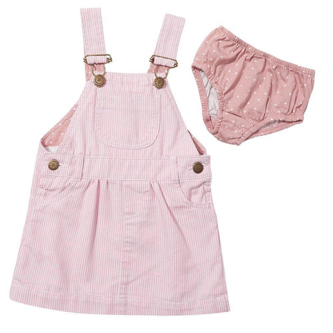 dotty-dungarees-ltd, Pink Stripe Dress