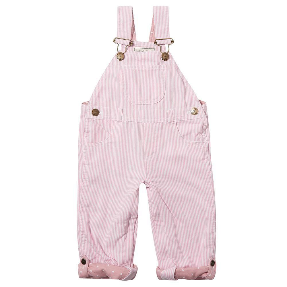 dotty-dungarees-ltd, Pink Stripe Dungarees
