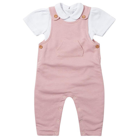 Pink Diddy Dungarees