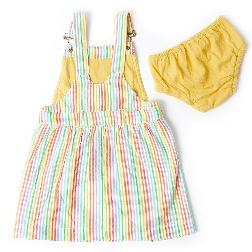 dotty-dungarees-ltd, Rainbow Seersucker Dress