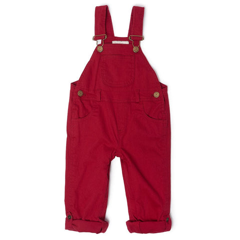 dotty-dungarees-ltd, Red Denim Dungarees