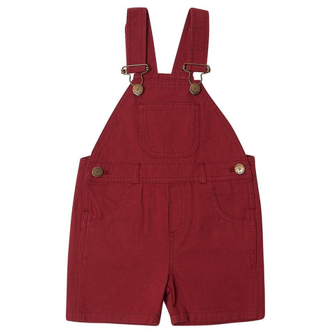 dotty-dungarees-ltd, Crimson Cotton Shorts