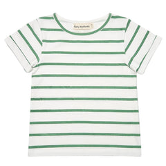 Green Stripe Summer T-Shirt