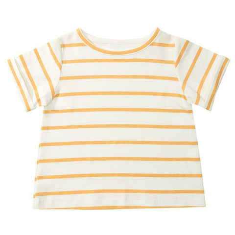 dotty-dungarees-ltd, Yellow Stripe Summer T-Shirt