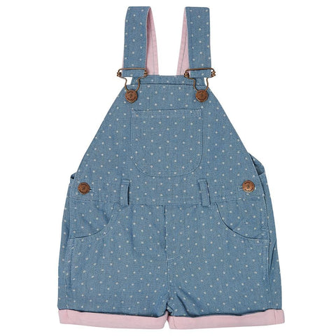 dotty-dungarees-ltd, Dotty Denim Shorts