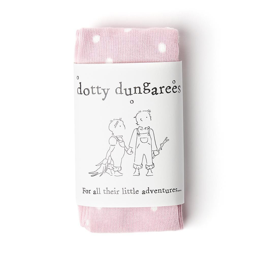 dotty-dungarees-ltd, Dotty Tights - Pink