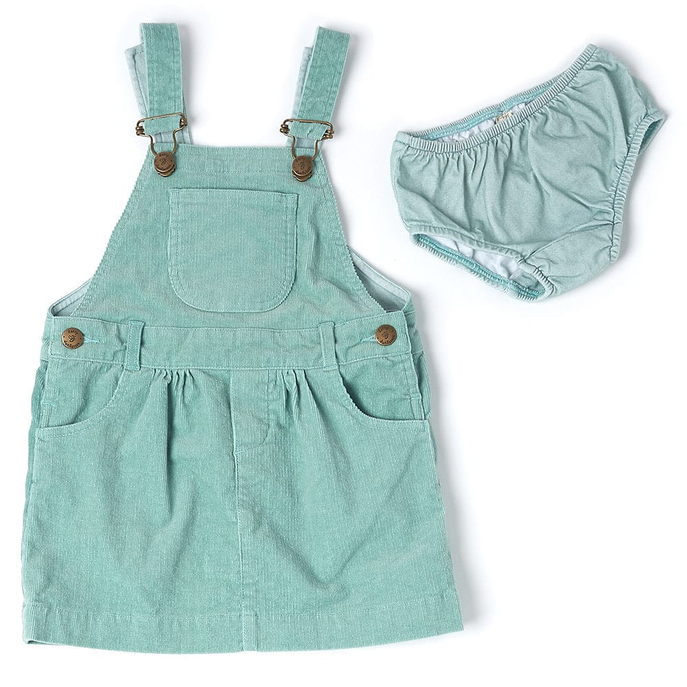 dotty-dungarees-ltd, Mint Cord Dress