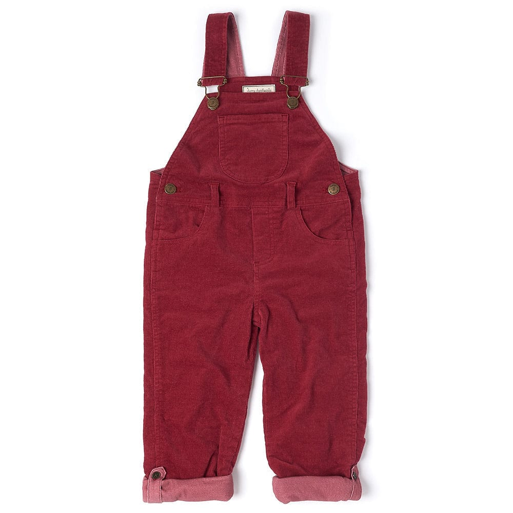 dotty-dungarees-ltd, Robin Red Cord Dungarees