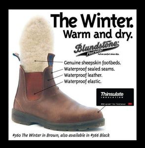 Blundstone 566 - The Winter Black