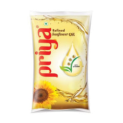 Priya Refined Sunflower Oil - Big Meal