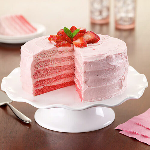 Strawberry cake - Big Meal