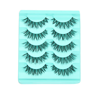 Crisscross False Eyelashes