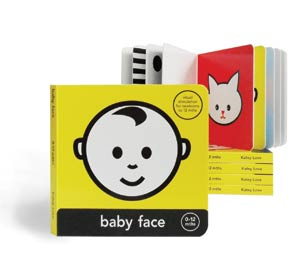 Baby Face Board Book