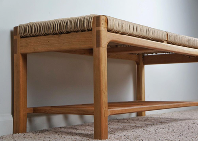 Make a Corded Bench with The Wood Doc