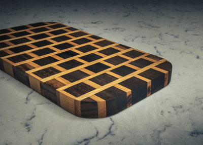 How to Make a Brick Pattern Cutting Board