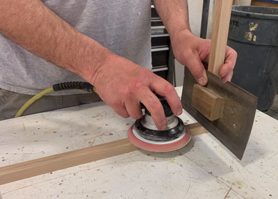 Woodshop 101: Finally, a Way to Sand Corners