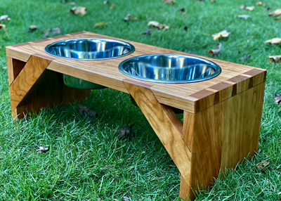Build a Pet Food Bowl Stand with Only Hand Tools