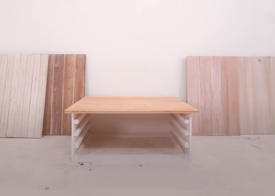 Make a Tabletop with Only Hand Tools