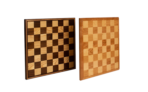 Forest 2 Home chess board kits made with Walnut wood, Hard Maple wood, Ash wood, Cherry wood and Red Oak wood made with premium lumber